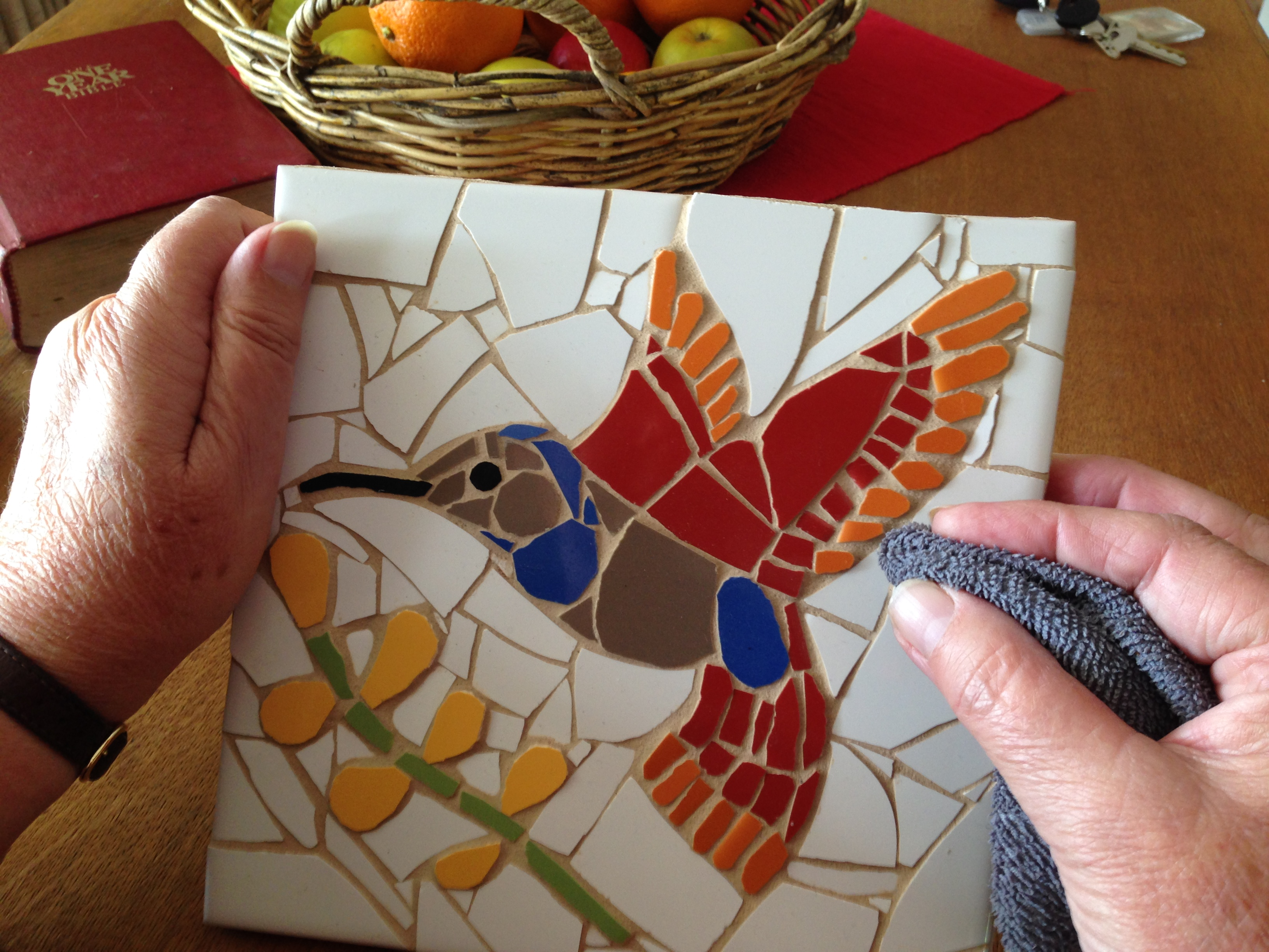What learning to mosaic taught me about mental illness ...